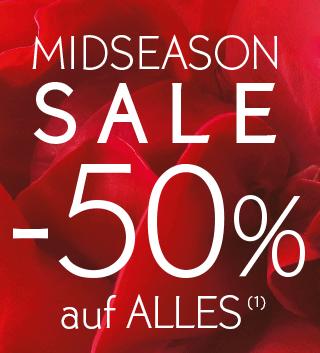 MIDSEASON SALE -50% auf ALLES