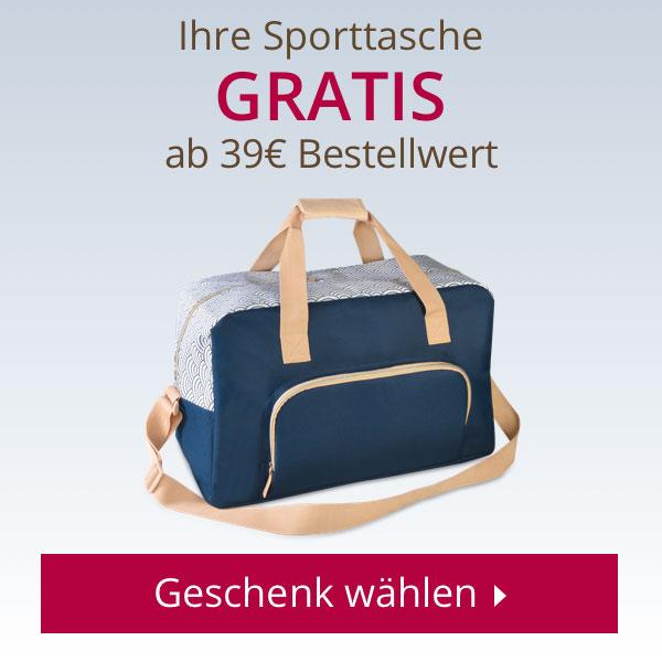 Ihre Sporttasche GRATIS