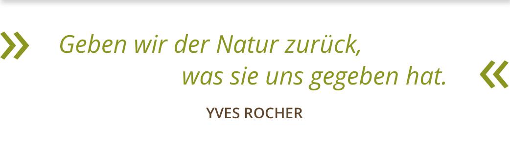 YVES ROCHER HAUTNAH